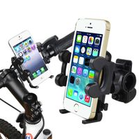 Bicycle Phone Holder Mount and Plate, Black