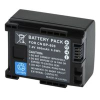 Li-Ion Standard Battery for Canon BP-808