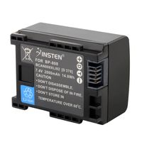 Compatible Decoded Li-ion Battery  compatible with Canon VIXIA HF S11