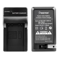 NB-6L Compact Battery Charger Set  compatible with Canon PowerShot SD-Series / Digital ELPH SD1200 IS, Black