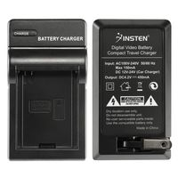 Compact Battery Charger Set compatible with  GoPro AHDBT-001
