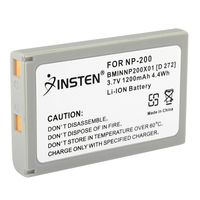 NP-200 Compatible Li-Ion Battery  compatible with Konica Minolta DiMage X Series Xt
