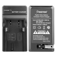NP-800 Compact Battery Charger Set  compatible with Konica Minolta DiMage A Series A200, Black