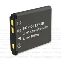 INSTEN Li-ion Battery  compatible with Fuji FinePix Z Series Z100FD, Black