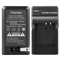 NP-BK1 Compact Battery Charger Set  compatible with Sony CyberShot S Series DSC-S980, Black