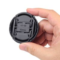 Camera Lens Cap  compatible with Panasonic LUMIX DMC-FS33, Black
