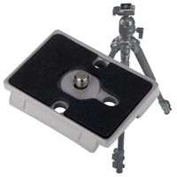 Camera Quick Release Plate compatible with Panasonic LUMIX DMC-FS33