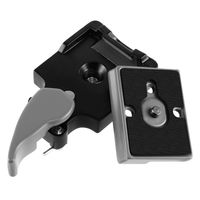 Camera Quick Release Plate Adapter Set  compatible with Nikon CoolPix L4