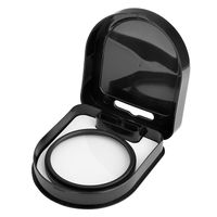Lens Filter  compatible with Samsung© Digimax A55W, Black