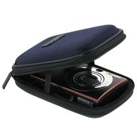 Digital Camera Case compatible with Nikon CoolPix S600, Blue