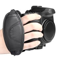 Camera Hand Strap Version 2 compatible with Canon Digital IXUS 75, Black