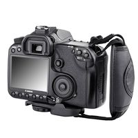 Camera Hand Strap Version 2  compatible with Panasonic LUMIX DMC-LZ6, Black