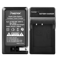 NP-BG1 NP-FG1 Compatible Compact Battery Charger  compatible with Sony CyberShot W Series DSC-W50, Black