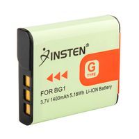 NP-BG1 NP-FG1 Compatible Li-Ion Battery  compatible with Sony CyberShot W Series DSC-W50, Black