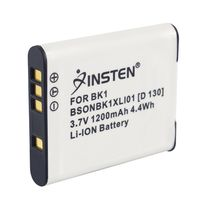 NP-BK1 Compatible Li-Ion Battery  compatible with Sony CyberShot S Series DSC-S980, White