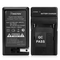 Compatible Battery Charger  compatible with Sony Alpha A550, Black