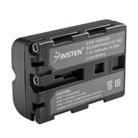 NP-FM500H Compatible Li-Ion Battery  compatible with Sony Alpha A550, Black