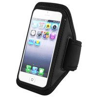 Deluxe Sportband compatible with Apple® iPhone® 5 /5C/ 5S/ iPod touch® 5th Generation, Black