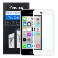 Colorful Frame Screen Protector compatible with Apple iPhone 5/ 5S/ 5C, White