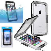 Snap in Waterproof case compatible with Apple iPhone 6/ 6s,Black