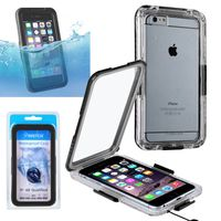 "Snap in Waterproof case compatible with Apple iPhone 6 Plus 5.5"",Black"