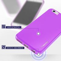 TPU Case compatible with Apple® iPhone® 6/6s, Purple Jelly