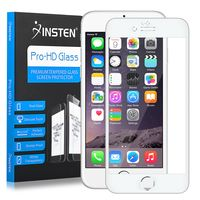 Frame Tempered Glass Screen Protector Compatible with Apple iPhone 6/6s, Silver