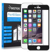 Frame Tempered Glass Screen Protector Compatible with Apple iPhone 6/6s, Black