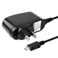 Travel Charger  compatible with Amazon Kindle 3 / Wi-Fi / 3G + Wi-Fi, Black
