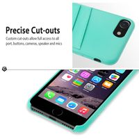 Cobble Pro Leather Textured Back Cover Case for iPhone® 7, Turquoise