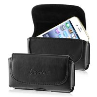 Leather Case  compatible with Samsung© Fascinate / Mesmerize / Showcase SCH-i500, Black