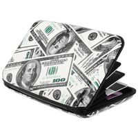 Vertical Aluminum Card Case,  US Dollar