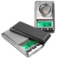 Digital Pocket Scale, 0.01-500g, Gray