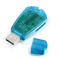 SIM Card Reader  compatible with Samsung© Galaxy W i8150 / Wonder, Blue