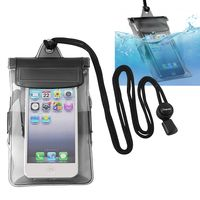 Waterproof Bag Case for Cell Phone, Black