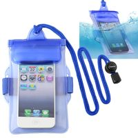 Waterproof Bag Case for Cell Phone, Blue