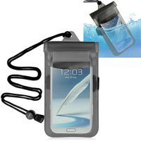 Waterproof Bag  compatible with BlackBerry Curve 8330, Black