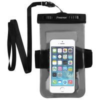 Waterproof Bag for Cell Phone with Armband,Black