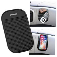 Universal Magic Sticky Anti-Slip Mat  compatible with Samsung© Solstice SGH-A887, Black
