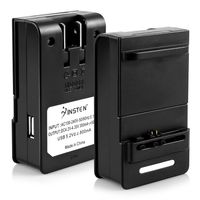 Battery Wall Desktop Charger compatible with HTC EVO Design 4G / Hero S / Hero 4G, Black