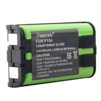 Ni-MH Battery compatible with Panasonic HHR-P104 Cordless Phone