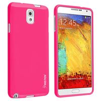 TPU Case compatible with Samsung© Galaxy Note III N9000, Hot Pink Jelly