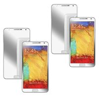 2-piece Set Mirror Screen Protector compatible with Samsung© Galaxy Note III N9000