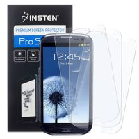 3-Pack Anti-Glare Screen Protector compatible with Samsung© Galaxy SIII / S3