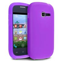 Silicone Skin Case  compatible with Samsung© Galaxy Centura S738C, Purple