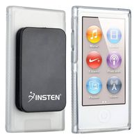 TPU Rubber Skin Case  compatible with Apple® iPod Nano® 7th Generation, Clear