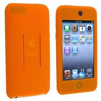 Silicone Skin Case compatible with Apple® iPod touch® 1st / 2nd / 3rd Gen, Orange