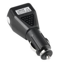 Universal USB Car Charger Adapter  compatible with Nokia C5, Black
