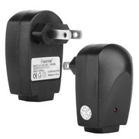Universal USB Travel Charger Adapter  compatible with Samsung© Solstice SGH-A887, Black
