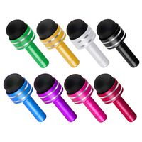 3.5mm Headset Dust Cap with Mini Stylus, 8-color Pack